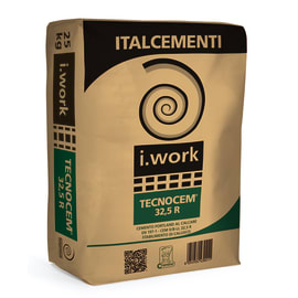 Cemento Tecnocem 32.5 Italcementi 25 kg