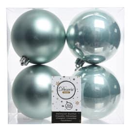 Box sfere grigio perla ø 10 cm