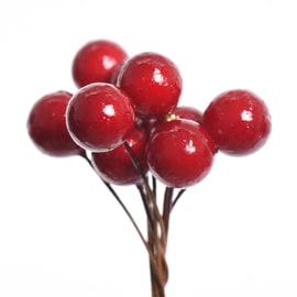 Pick bacche rosse, 11,5 cm