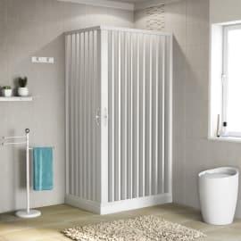 Box doccia scorrevole Playa 60-70 x 90-100, H 185 cm PVC 2 mm stampato