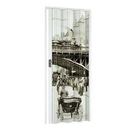 Porta a soffietto Vintage fantasia L 89.5 x H 214 cm
