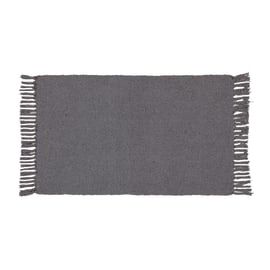 Tappetino cucina Basic grigio scuro 50 x 80 cm