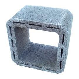 Canna fumaria in cemento 25 x 25 x 25 cm