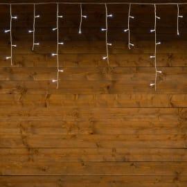 Tenda luminosa 180 minilucciole Led bianca fredda 7,68 m