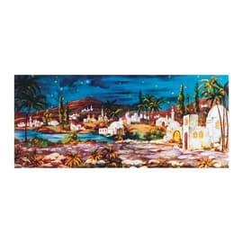 Paesaggio orientale 140 x 48 cm