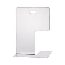 Fermalibri bianco L 14 x H 19,5 x P 15,5 cm