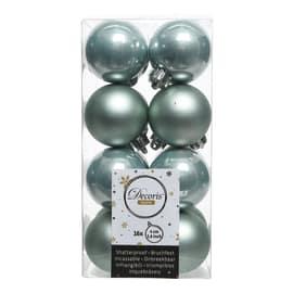 Box sfere grigio perla ø 6 cm