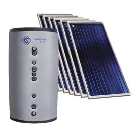 Impianto solare termico a circolazione forzata Costruzioni Solari Combi SR