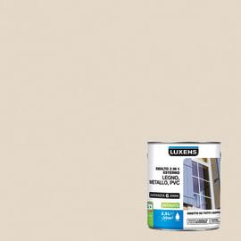 Smalto Luxens 3 in 1 all'acqua Bianco Avorio 1 satinato 2.5 L