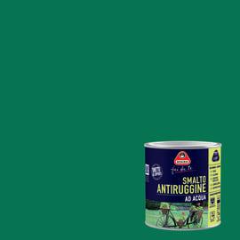 Smalto per ferro antiruggine verde chiaro satinato 0,5 L