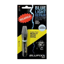 Ricarica colla per penna luce uv Blufixx pietra e vetro trasparente 5 g