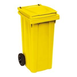 Bidone Carrellato giallo satinato 120 L