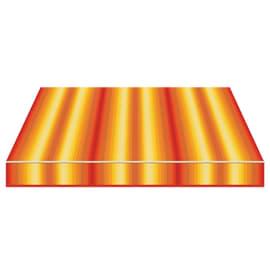 Tenda da sole a caduta cassonata Tempotest Parà 240 x 250 cm arancione/grigio/marrone/rosso Cod. 963/55