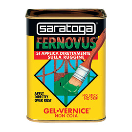 Smalto per ferro antiruggine Saratoga Fernovus marrone rinascimento Ferromicaceo 0,75 L
