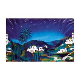 Paesaggio orientale 100 x 70 cm