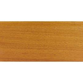Battiscopa impiallacciato verniciato doussie 13 x 80 x 2400 mm