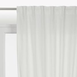Tenda Polycotton bianco 140 x 280 cm