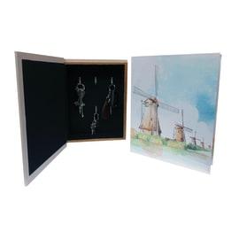 Bacheca porta chiavi 62025 6 posti Fantasia 22 x 7 x 28 cm