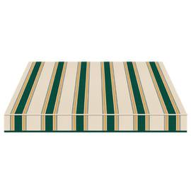 Tenda da sole a caduta cassonata Tempotest Parà 240 x 250 cm verde/giallo/avorio Cod. 635/8