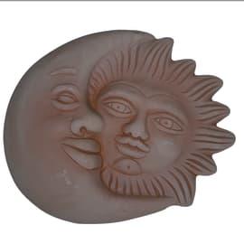 Sole e luna 22 x 26 x 4 cm cotto