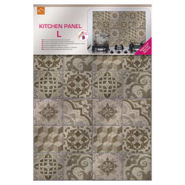 Sticker Kitchen Pannel Beige azulejos