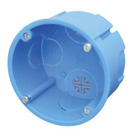 Scatola tonda GDO10070 azzurro