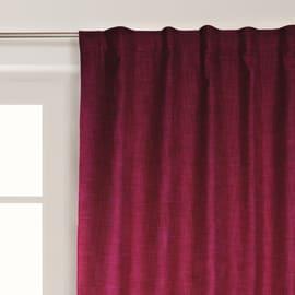 Tenda Lin Oscurante ignifuga rosso 140 x 300 cm