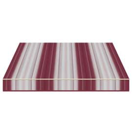 Tenda da sole a bracci Tempotest Parà 350 x 210 cm bordeaux/avorio Cod. 5001/73