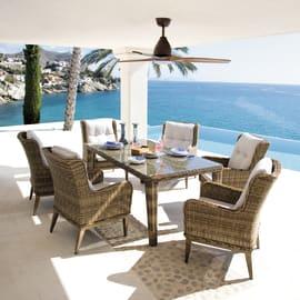 Set tavolo e sedie Bermuda