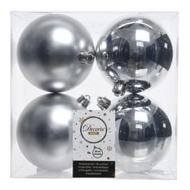 Box sfere argento ø 10 cm