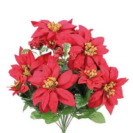 Fiore in mazzo da 9 Stella di Natale