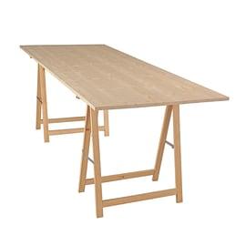 Tavole in legno lamellare prezzi offerte e vendita legno for Cavalletti in legno leroy merlin