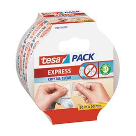 Nastro Pack express Tesa trasparente 50 m x 55 mm