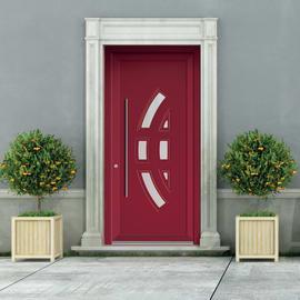 portoncino d'ingresso PVC Modern2 rosso L 90 x H 210 dx