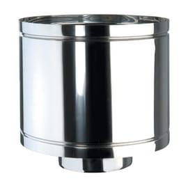 Terminale antivento acciaio inox AISI 316L