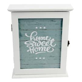 Bacheca porta chiavi Home sweet home 6 posti Fantasia 21 x 6,5 x 26 cm