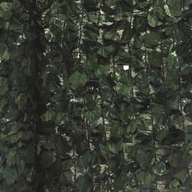 Siepe artificiale Ivy Plus verde Scuro 150x300 cm L 3 x H 1,5 m
