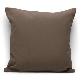 Fodera per cuscino marrone 60 x 60 cm
