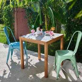 Set tavolo e sedie Soho Ceramica