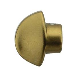 Pomolo senza rosetta per porta blindata bronzo