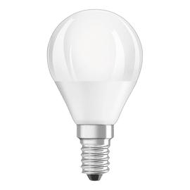 Lampadina LED Osram E14 =40W sfera luce calda 180°
