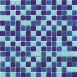 Mosaico Classic 32,7 x 32,7 cm blu, azzurro