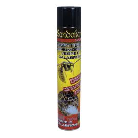 Insetticida Schiumogemo per nidi di vespe e calabroni getto oltre 4 m Sandokan 750 ml