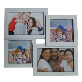Portafoto multiplo Easy4 bianco 4 foto
