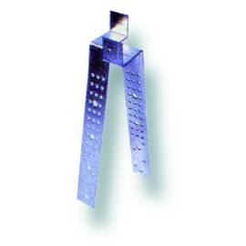 Staffa Portalistello Onduline Grigio, confezione da 50 pezzi