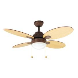Ventilatori da soffitto prezzi e offerte for Lampadario ventilatore leroy merlin