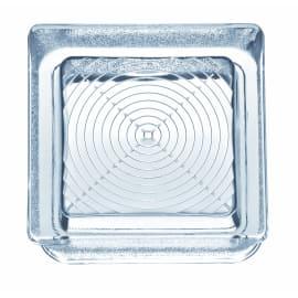 Vetromattone Pedonabile trasparente geometrico 14,5 x 5,5 x 14,5 cm