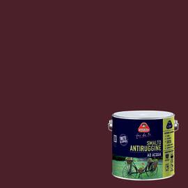 Smalto per ferro antiruggine testa di moro satinato 2 L