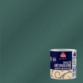 Smalto per ferro antiruggine Boero nero grana fine antichizzato 0,5 L