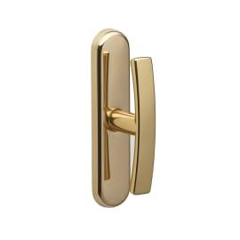 Maniglia per finestra martellina Idea in zama oro lucido